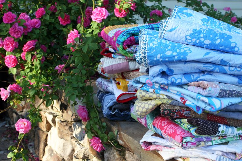 Roses-and-quilts